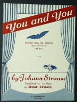 "You And You Waltz ""Die Flederman"" The Bat J. Strauss 1941"