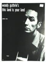 Woody GuthrieThis Land Is Your Land Med. Voice 1970