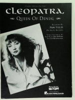Cleopatra Queen Of Denial, Pam Tillis. Piano Vocal Gtr 1991