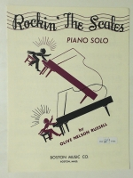 Rockin' The Scales Piano Solo Olive Nelson Russell 1963