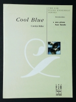 Cool Blueby Carolyn Miller. 1 Piano, 4 Hands 2006