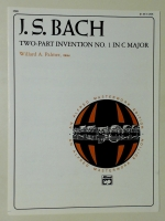 Two Part Invention No 1 in C Major. JS Bach 1989