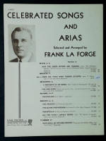 Here His Voice With Tender Accents Frank Soprano La Forge 1938