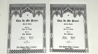 This Is My Prayer - 2 Pieces Sheet Music Med / Low & High Voice.