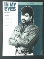 In My Eyes Recorded by Stevie B Piano Vocal Guitar 1988