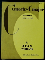 Concerto In C Major, Both Piano Parts, Jean Majors 1946