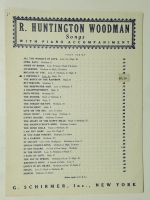 A Birthday Low Ab Voice by R. Huntington Woodman 1936 opera