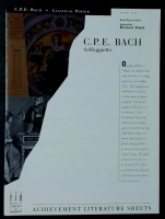 Solfeggietto by CPE Bach, Edited Randall Faber