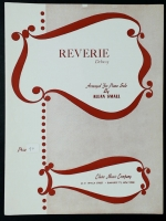 Reverie, Debussy. Piano Solo Arranged by Allan Small. 1958