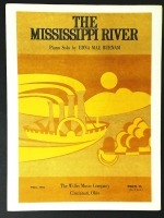 The Mississippi River Solo by Edna Mae Burnan. 1974