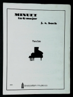 Minuet In G Major, Piano Solo JS Bach