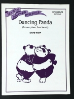 Dancing Panda Intermediate Piano Duet. 1 piano, 4 hands 1995
