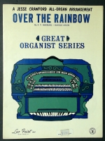 Over The Rainbow Jesse Crawford All Organ Arrangement 1969