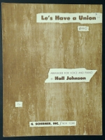 Le's Have A Union Hall Johnson 1964