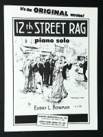 Twelfth (12th) Street Rag, Piano Solo. Euday Bowman 1947