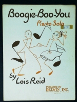 Boogie Boo You Piano Solo, Lois Reid. 1956