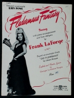 Fledermaus Fantasy Sung by Lily Pons. by Frank La Forge 1943