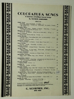 Spring Voices Voci Di Primavera Strauss 1928 opera sheet music