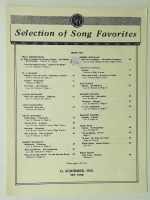 Maid Of Ganges On Wings Of Song, Low F 1938 opera music