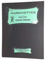 Marionettes For Piano Solo by Claude Debussy 1932