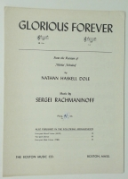 Glorious Forever High Voice Nathan H Dole Sergei Rachmaninoff 1
