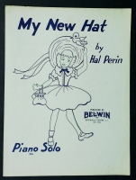 My New Hat Piano Solo by Hal Perin 1953