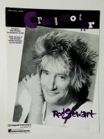 Crazy About Her Recorded by Rod Stewart Piano Vocal Guitar 1988