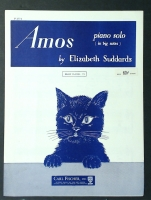 Amos, Piano Solo by Elizabeth Suddards 1953