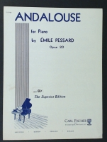 Andalouse For Piano by Emile Pressard Op 20 Edited Maurice Gould