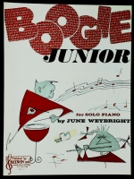 Boogie Junior Piano Solo by June Weybright 1957
