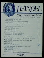 Where'er You Walk in Low F Voice. Handel Aria From Semelle