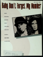 Baby Don't Forget My Number Milli Vanilli 1988