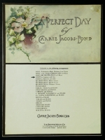 A Perfect Day Duet For Sopr & Barit. Carrie Jacobs-Bond opera