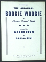 The Original Boogie Woogie, Accordion. by Galla Rini 1954