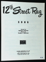 12th Street Rag, James Summer & Euday Brown 1947
