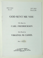 God Sent Me You Low Voice (Eb) Wedding Song RD Row 1958