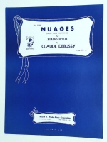Nuages (From Three Nocturnes) For Piano Solo Debussy. 1935