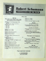 Important Event No 6, Scenes From Childhood Schumann 1945