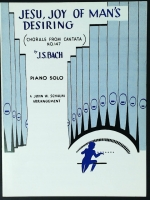 Jesu, Joy Of Man's Desiring Chorale From Cantata 147. Piano Solo