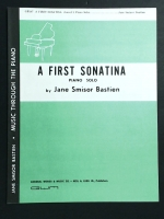 A First Sonatina Solo By Jane Smisor Bastien Level 3