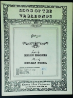 Song Of The Vagabonds Ab Minor Voice Friml / Hooker 1930