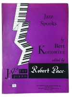 Jazz Spooks by Bert Konowitz Edited by Robert Pace 1967