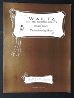 Waltz From Sleeping Beauty Tschaikowsky & Siloti. Solo 1936