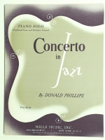 Concerto In Jazz by Donald Phillips Orchestra & Band