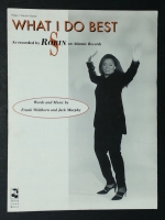 What I Do Best by Robin S. Piano, Vocal, Guitar 1993