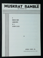 Muskrat Ramble, Modern Piano Arrangement Edward Ory 1953