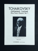 Tchaikovsky Opening Theme From Piano Concerto No 1