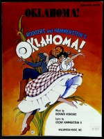 Oklahoma Broadway Musical Piano Vocal Guitar