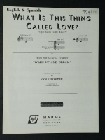 What Is This Thing Called Love, C Voice. English & Spanish 1949
