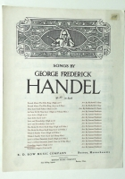 Guardian Angels High Voice in G by George Frederick Handel. 193
